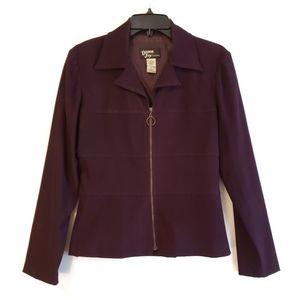Vintage Dawn Joy Fashion Purple Jacket